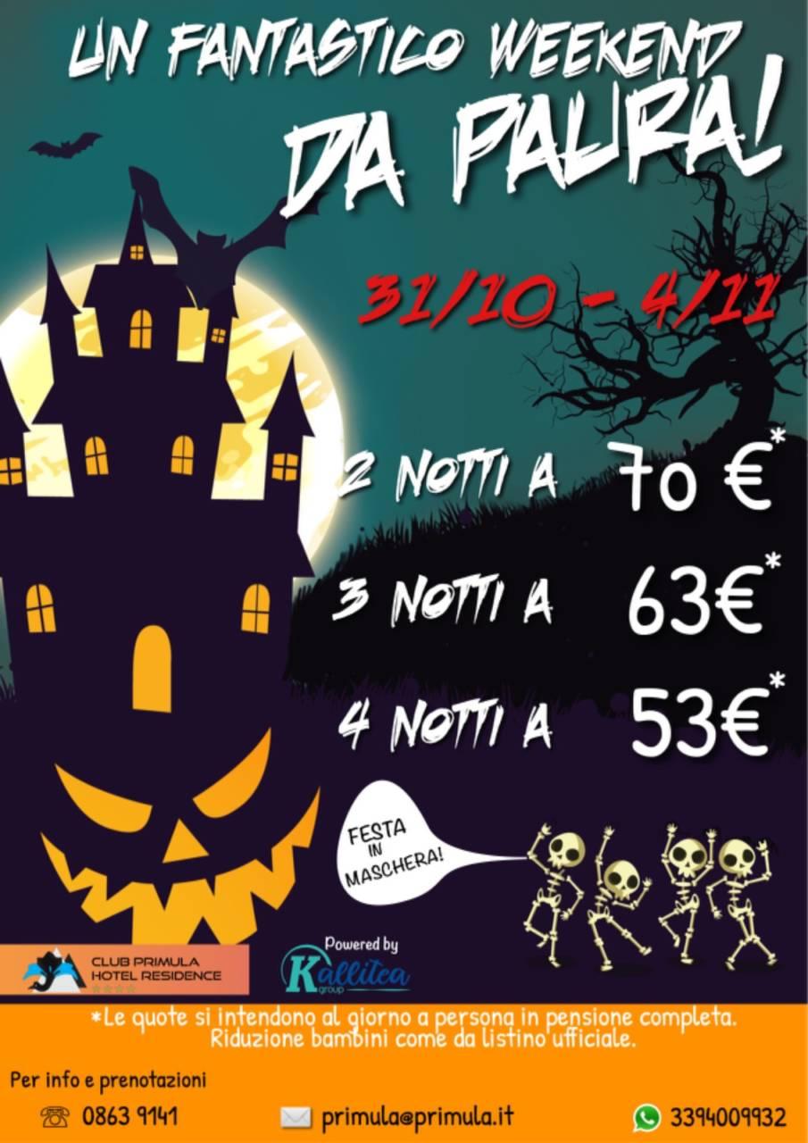 Speciale Halloween e ponte Ognissanti