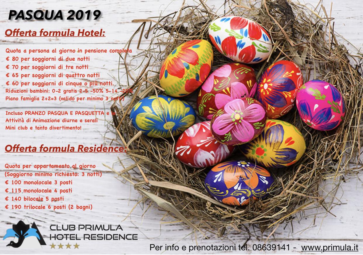 Speciale Pasqua 2019